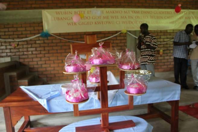 The Wedding Cakes.