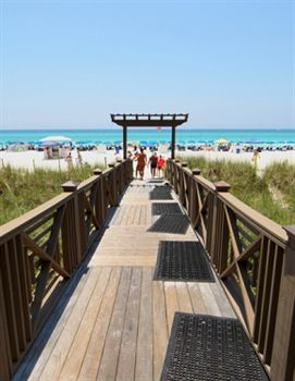 Beach front Board Walk