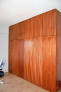 Huge Shelves in the Master Bedroom